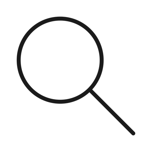 magnifier ,Logo , icon , SVG magnifier