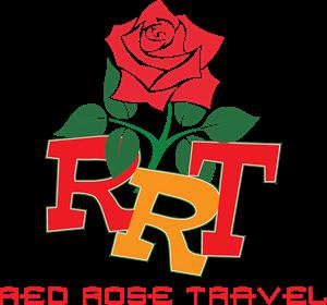 Red Rose Travel Logo ,Logo , icon , SVG Red Rose Travel Logo