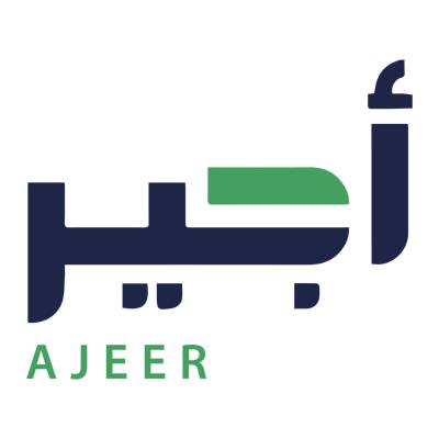 ajeer أجير ,Logo , icon , SVG ajeer أجير