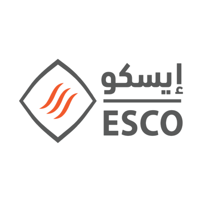 شعار إيسكو ESCO ,Logo , icon , SVG شعار إيسكو ESCO