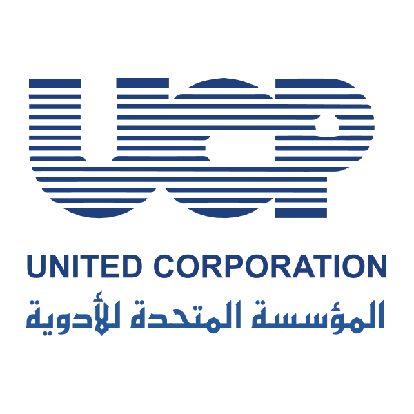 شعار الشركة المتحدة للأدوية ,Logo , icon , SVG شعار الشركة المتحدة للأدوية