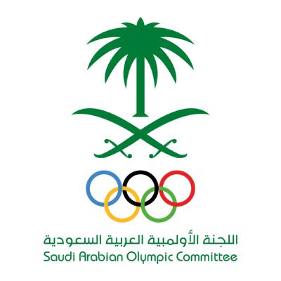 شعار اللجنة الأولمبية العربية السعودية ,Logo , icon , SVG شعار اللجنة الأولمبية العربية السعودية
