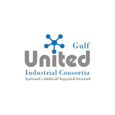 شعار المتحدة الخليجية للتحالفات الصناعية ,Logo , icon , SVG شعار المتحدة الخليجية للتحالفات الصناعية