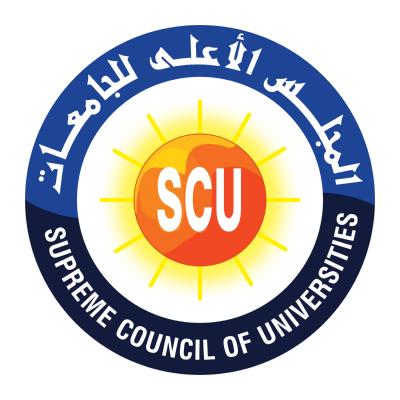شعار المجلس الأعلى للجامعات , مصر ,Logo , icon , SVG شعار المجلس الأعلى للجامعات , مصر