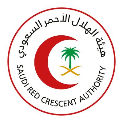 شعار الهلال الأحمر السعودي ,Logo , icon , SVG شعار الهلال الأحمر السعودي