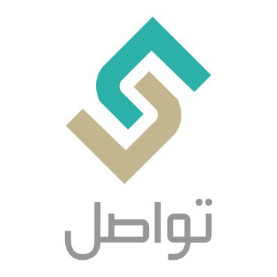 شعار تواصل ,Logo , icon , SVG شعار تواصل
