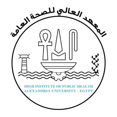 شعار جامعة الإسكندرية ـ المعهد العالي للصحة العامة , مصر ,Logo , icon , SVG شعار جامعة الإسكندرية ـ المعهد العالي للصحة العامة , مصر