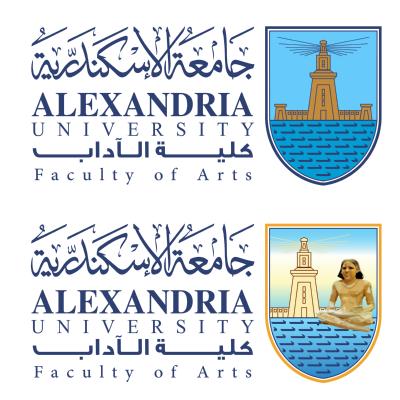 شعار جامعة الإسكندرية ـ جامعة الإسكندرية ـ كلية الآداب , مصر ,Logo , icon , SVG شعار جامعة الإسكندرية ـ جامعة الإسكندرية ـ كلية الآداب , مصر