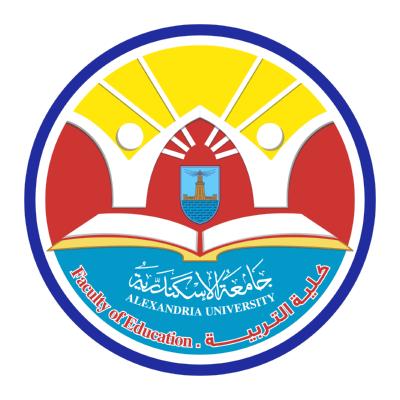 شعار جامعة الإسكندرية ـ جامعة الإسكندرية ـ كلية التربية , مصر ,Logo , icon , SVG شعار جامعة الإسكندرية ـ جامعة الإسكندرية ـ كلية التربية , مصر