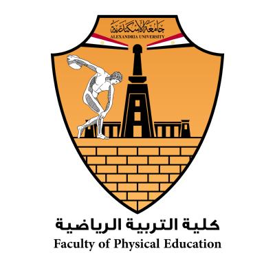 شعار جامعة الإسكندرية ـ كلية التربية الرياضية , مصر ,Logo , icon , SVG شعار جامعة الإسكندرية ـ كلية التربية الرياضية , مصر