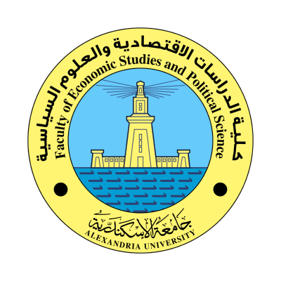 شعار جامعة الإسكندرية ـ كلية الدراسات الاقتصادية , مصر ,Logo , icon , SVG شعار جامعة الإسكندرية ـ كلية الدراسات الاقتصادية , مصر