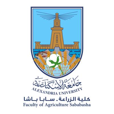 شعار جامعة الإسكندرية ـ كلية الزراعة ـ سابا باشا , مصر ,Logo , icon , SVG شعار جامعة الإسكندرية ـ كلية الزراعة ـ سابا باشا , مصر