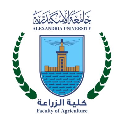 شعار جامعة الإسكندرية ـ كلية الزراعة , مصر ,Logo , icon , SVG شعار جامعة الإسكندرية ـ كلية الزراعة , مصر