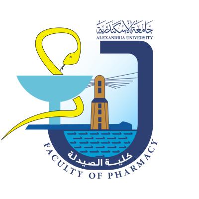 شعار جامعة الإسكندرية ـ كلية الصيدلة , مصر ,Logo , icon , SVG شعار جامعة الإسكندرية ـ كلية الصيدلة , مصر