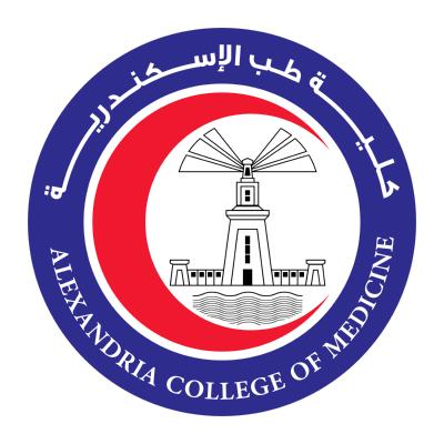 شعار جامعة الإسكندرية ـ كلية الطب , مصر ,Logo , icon , SVG شعار جامعة الإسكندرية ـ كلية الطب , مصر