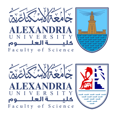شعار جامعة الإسكندرية ـ كلية العلوم , مصر ,Logo , icon , SVG شعار جامعة الإسكندرية ـ كلية العلوم , مصر