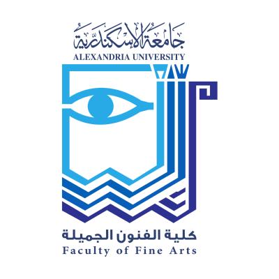 شعار جامعة الإسكندرية ـ كلية الفنون الجميلة , مصر ,Logo , icon , SVG شعار جامعة الإسكندرية ـ كلية الفنون الجميلة , مصر