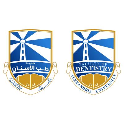 شعار جامعة الإسكندرية ـ كلية طب الأسنان , مصر ,Logo , icon , SVG شعار جامعة الإسكندرية ـ كلية طب الأسنان , مصر