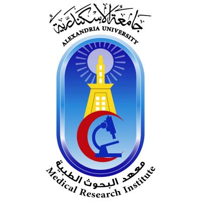 شعار جامعة الإسكندرية ـ معهد البحوث الطبية , مصر ,Logo , icon , SVG شعار جامعة الإسكندرية ـ معهد البحوث الطبية , مصر