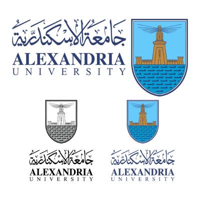 شعار جامعة الإسكندرية , مصر ,Logo , icon , SVG شعار جامعة الإسكندرية , مصر