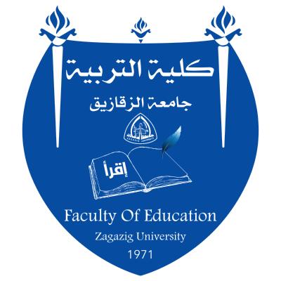 شعار جامعة الزقازيق ـ كلية التربية , مصر ,Logo , icon , SVG شعار جامعة الزقازيق ـ كلية التربية , مصر
