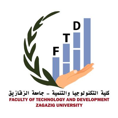شعار جامعة الزقازيق ـ كلية التكنولوجيا والتنمية , مصر ,Logo , icon , SVG شعار جامعة الزقازيق ـ كلية التكنولوجيا والتنمية , مصر