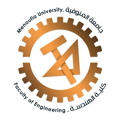 شعار جامعة المنوفية ـ كلية الهندسة , مصر ,Logo , icon , SVG شعار جامعة المنوفية ـ كلية الهندسة , مصر