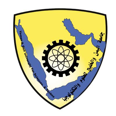 شعار جامعة اليمن والخليج للعلوم التكنلوجيا ,Logo , icon , SVG شعار جامعة اليمن والخليج للعلوم التكنلوجيا