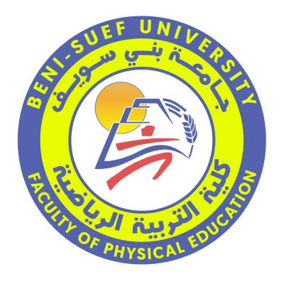 شعار جامعة بني سويف ـ كلية التربية الرياضية , مصر ,Logo , icon , SVG شعار جامعة بني سويف ـ كلية التربية الرياضية , مصر