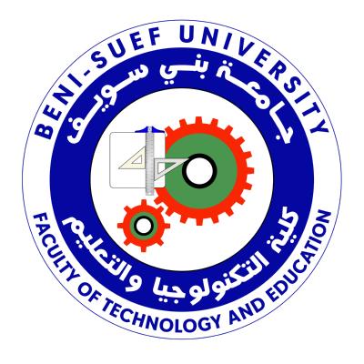 شعار جامعة بني سويف ـ كلية التكنولوجيا والتعليم , مصر ,Logo , icon , SVG شعار جامعة بني سويف ـ كلية التكنولوجيا والتعليم , مصر