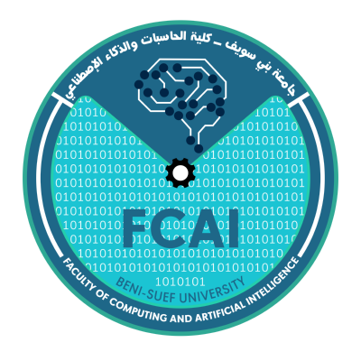 شعار جامعة بني سويف ـ كلية الحاسبات والذكاء الإصطناعي , مصر ,Logo , icon , SVG شعار جامعة بني سويف ـ كلية الحاسبات والذكاء الإصطناعي , مصر