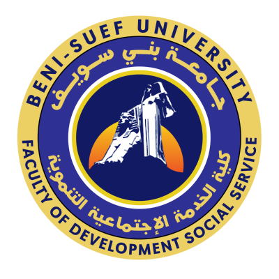 شعار جامعة بني سويف ـ كلية الخدمة الإجتماعية التنموية , مصر ,Logo , icon , SVG شعار جامعة بني سويف ـ كلية الخدمة الإجتماعية التنموية , مصر