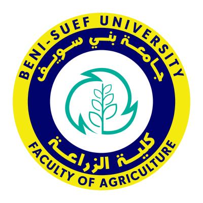 شعار جامعة بني سويف ـ كلية الزراعة , مصر ,Logo , icon , SVG شعار جامعة بني سويف ـ كلية الزراعة , مصر