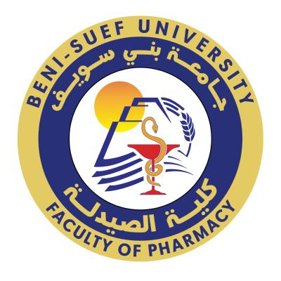شعار جامعة بني سويف ـ كلية الصيدلة , مصر ,Logo , icon , SVG شعار جامعة بني سويف ـ كلية الصيدلة , مصر