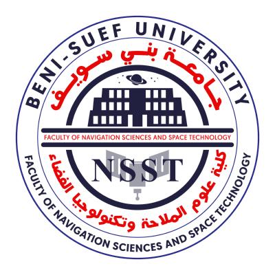 شعار جامعة بني سويف ـ كلية علوم الملاحة وتكنولوجيا الفضاء , مصر ,Logo , icon , SVG شعار جامعة بني سويف ـ كلية علوم الملاحة وتكنولوجيا الفضاء , مصر