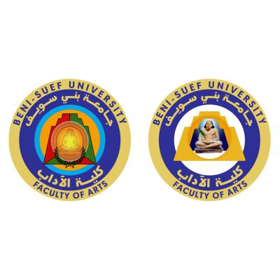 شعار جامعة بني سويف ـ كليـة الآداب , مصر ,Logo , icon , SVG شعار جامعة بني سويف ـ كليـة الآداب , مصر