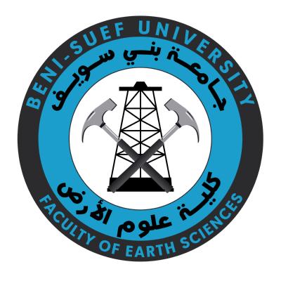 شعار جامعة بني سويف ـ كليـة علوم الأرض , مصر ,Logo , icon , SVG شعار جامعة بني سويف ـ كليـة علوم الأرض , مصر