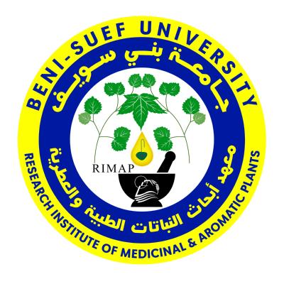 شعار جامعة بني سويف ـ معهد أبحاث النباتات الطبية والعطرية , مصر ,Logo , icon , SVG شعار جامعة بني سويف ـ معهد أبحاث النباتات الطبية والعطرية , مصر
