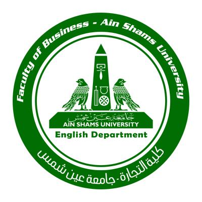 شعار جامعة عين شمس ـ كلية التجارة الإنجليزية , مصر ,Logo , icon , SVG شعار جامعة عين شمس ـ كلية التجارة الإنجليزية , مصر