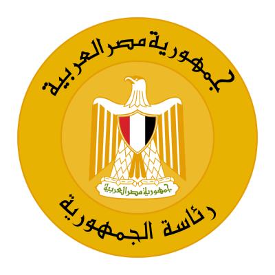 شعار رئاسة الجمهورية , مصر ,Logo , icon , SVG شعار رئاسة الجمهورية , مصر