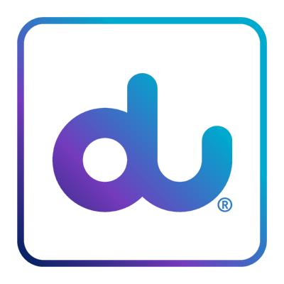 شعار شركة الإمارات للاتصالات المتكاملة (دو) ,Logo , icon , SVG شعار شركة الإمارات للاتصالات المتكاملة (دو)