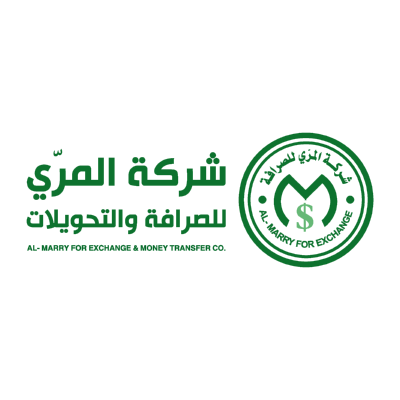 شعار المري للصرافة ,Logo , icon , SVG شعار المري للصرافة