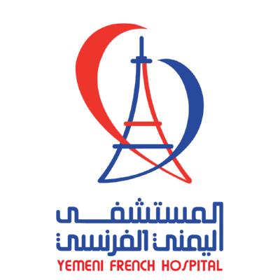 شعار المستشفى اليمني الفرنسي ,Logo , icon , SVG شعار المستشفى اليمني الفرنسي