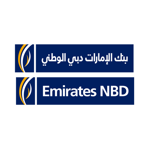 شعار بنك الامارات دبي الوطني ,Logo , icon , SVG شعار بنك الامارات دبي الوطني