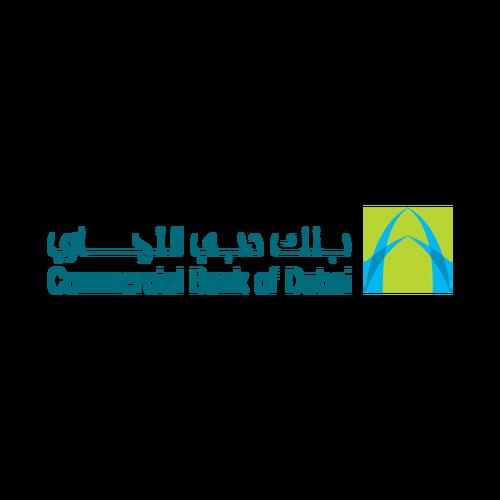 شعار بنك دبي التجاري ,Logo , icon , SVG شعار بنك دبي التجاري