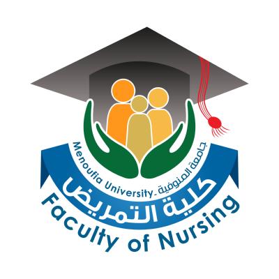 شعار جامعة المنوفية ـ كلية التمريض , مصر ,Logo , icon , SVG شعار جامعة المنوفية ـ كلية التمريض , مصر