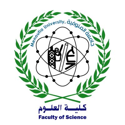 شعار جامعة المنوفية ـ كلية العلوم , مصر ,Logo , icon , SVG شعار جامعة المنوفية ـ كلية العلوم , مصر