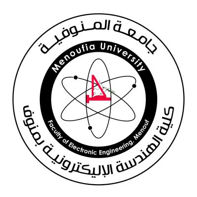 شعار جامعة المنوفية ـ كلية الهندسة الإليكترونية بمنوف , مصر ,Logo , icon , SVG شعار جامعة المنوفية ـ كلية الهندسة الإليكترونية بمنوف , مصر