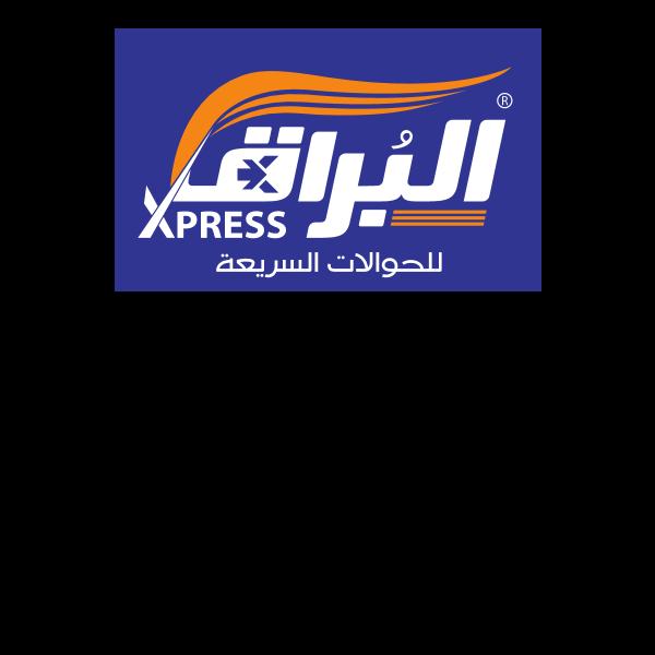 شعار شركة البراق للصرافة ,Logo , icon , SVG شعار شركة البراق للصرافة