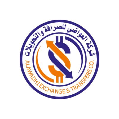 شعار شركة العواضي للصرافة والتحويلات ,Logo , icon , SVG شعار شركة العواضي للصرافة والتحويلات